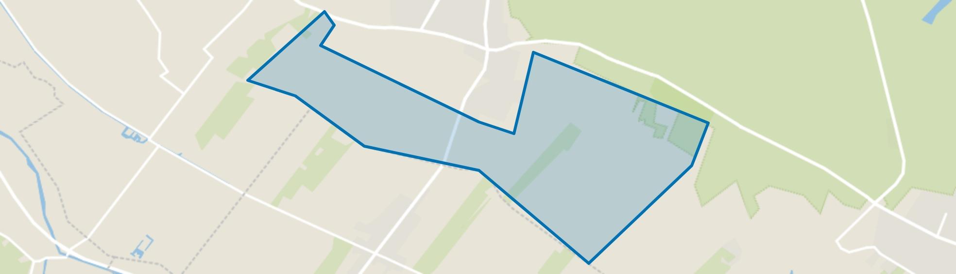 Verspreide huizen in het Lage Land, Doorn map