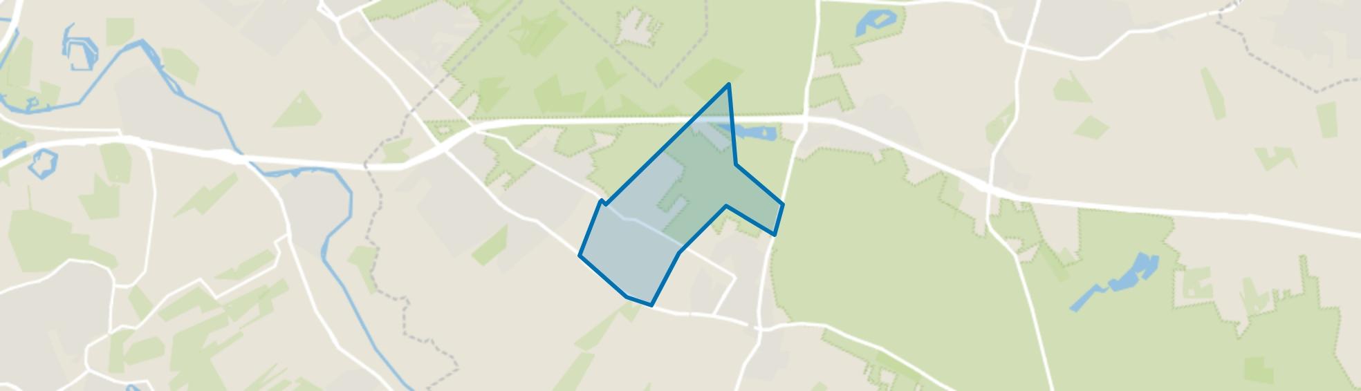 Verspreide huizen op de Heuvelrug-West, Doorn map