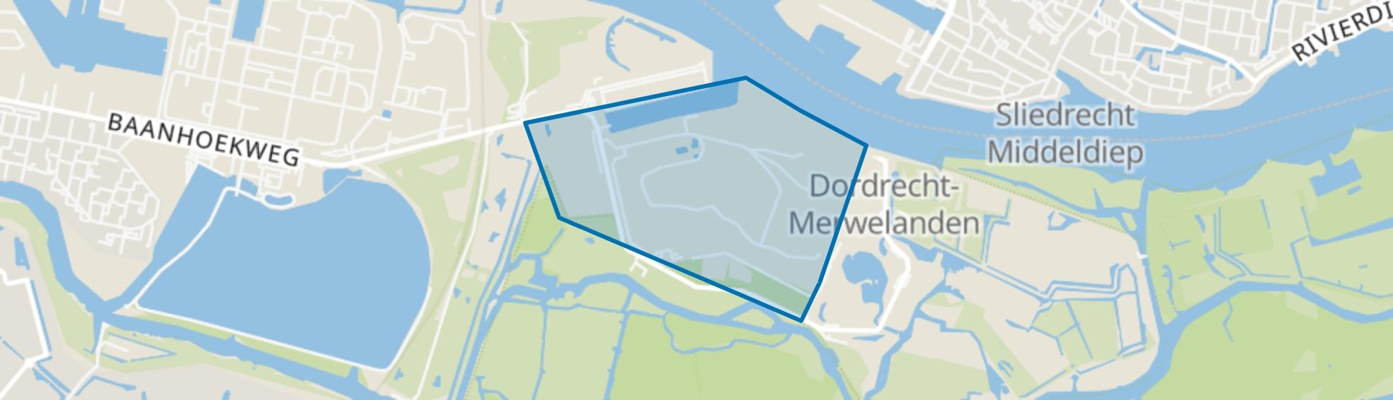 3e Merwedehaven, Dordrecht map