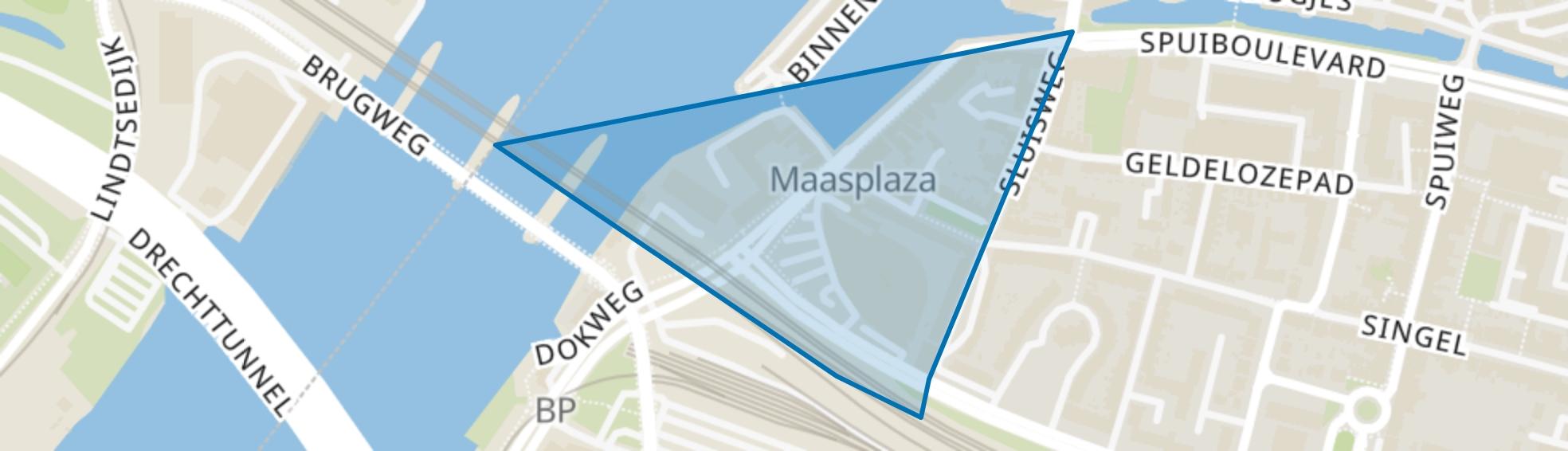 Achterhakkers en omgeving, Dordrecht map
