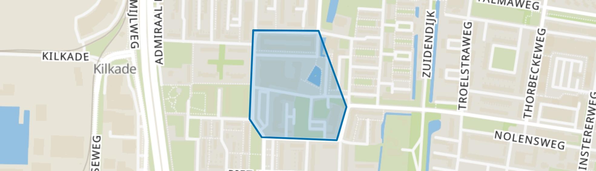 Admiraalsplein, Dordrecht map