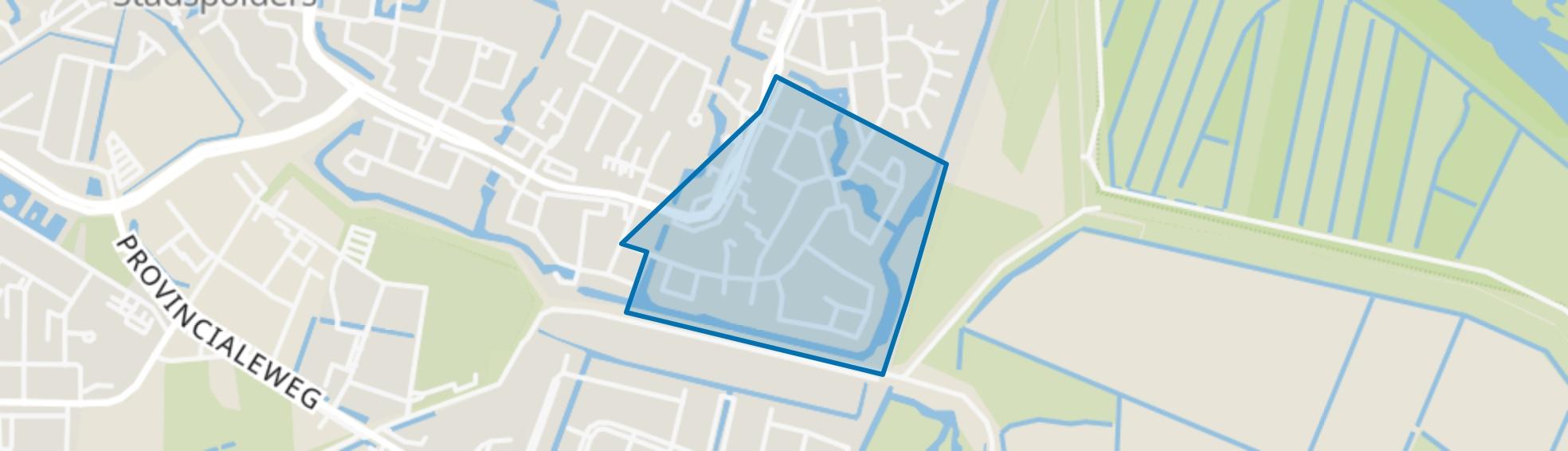 Aletta Jacobs-erf en omgeving, Dordrecht map