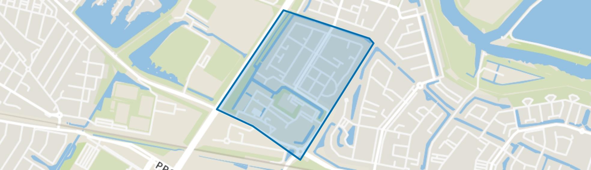 Amazone en omgeving, Dordrecht map