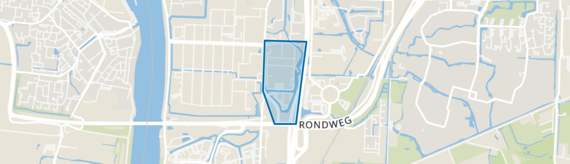 Amstelwijck-West, Dordrecht map