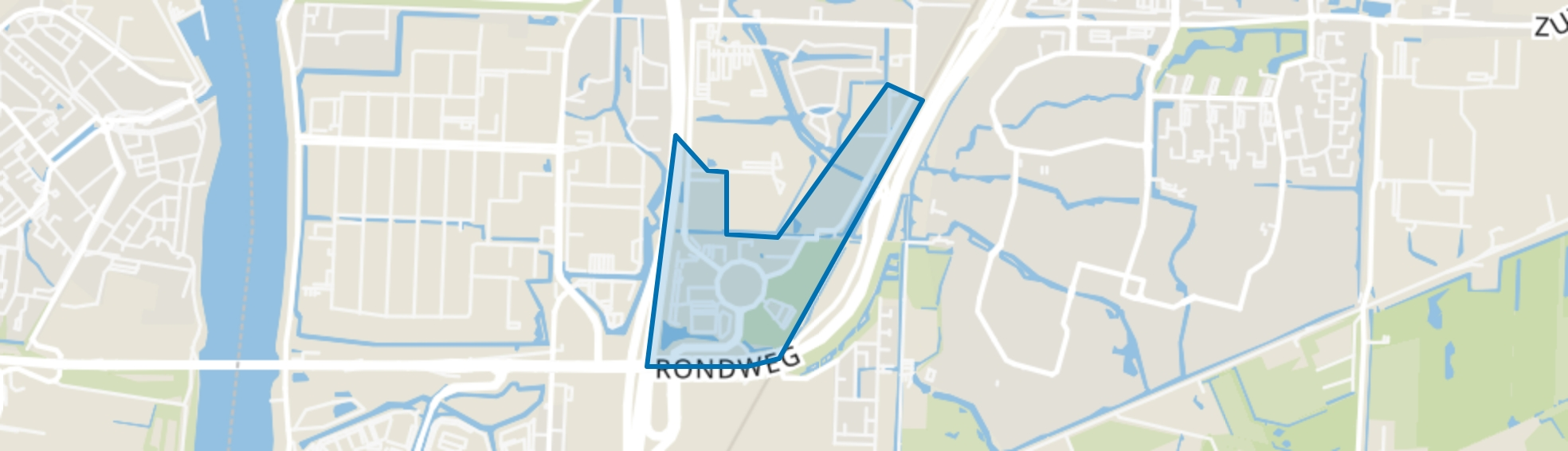 Amstelwijck, Dordrecht map