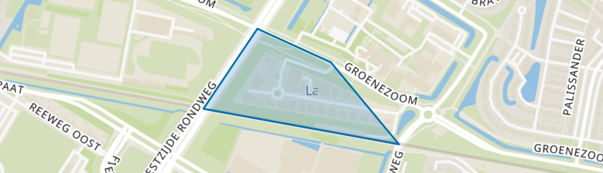 Bedrijventerrein Groene Zoom, Dordrecht map