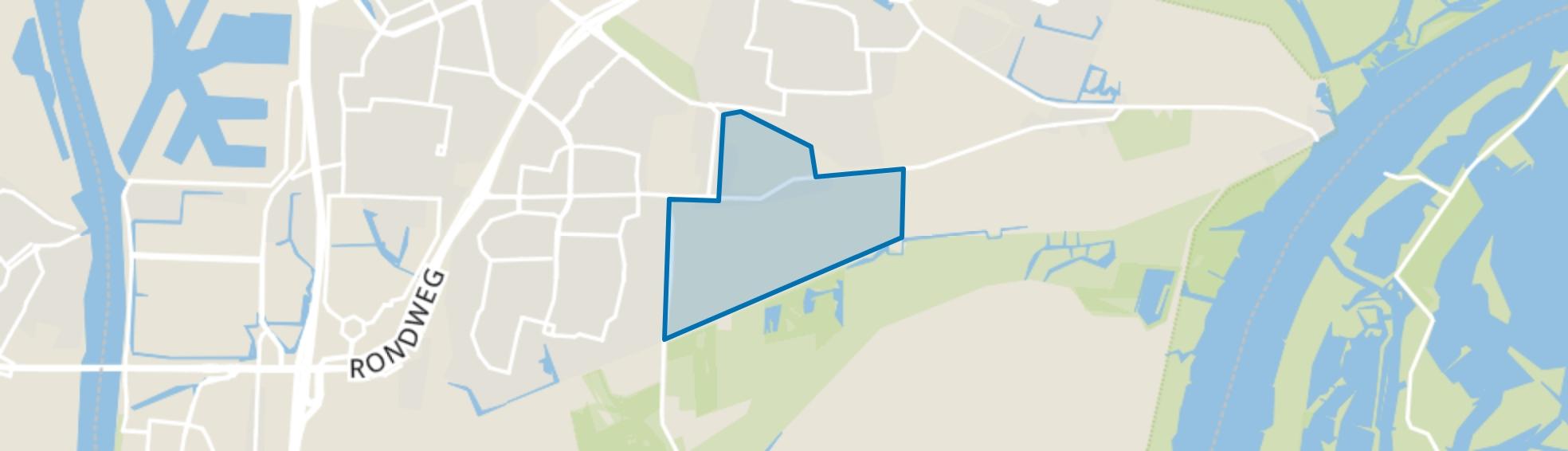 Belthure Park, Dordrecht map