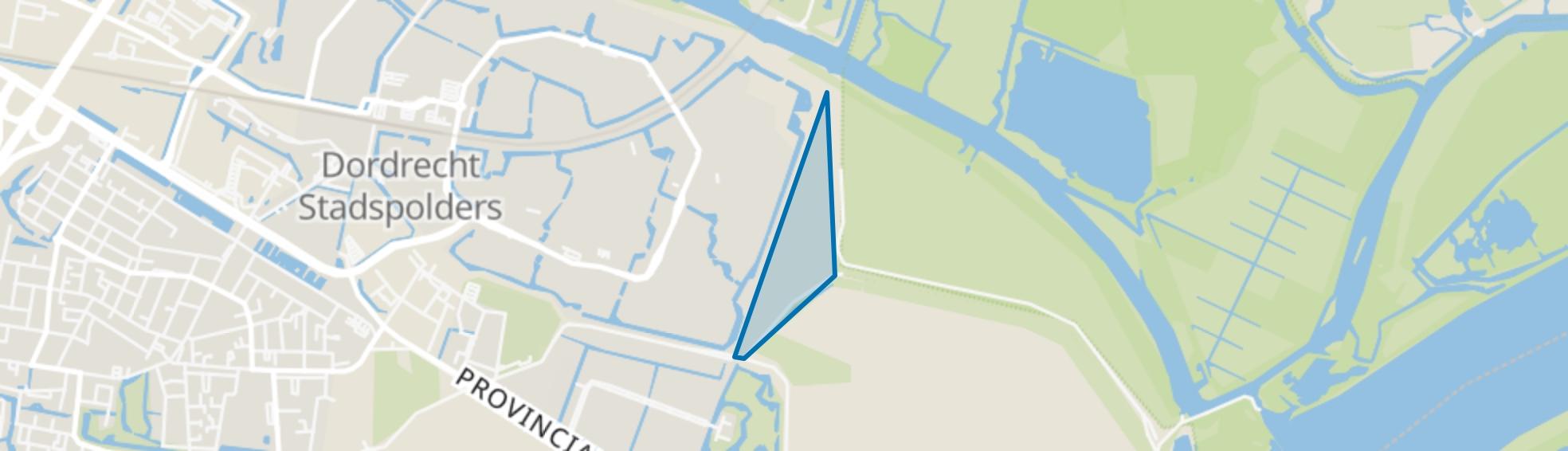 Bildersteeg en omgeving, Dordrecht map
