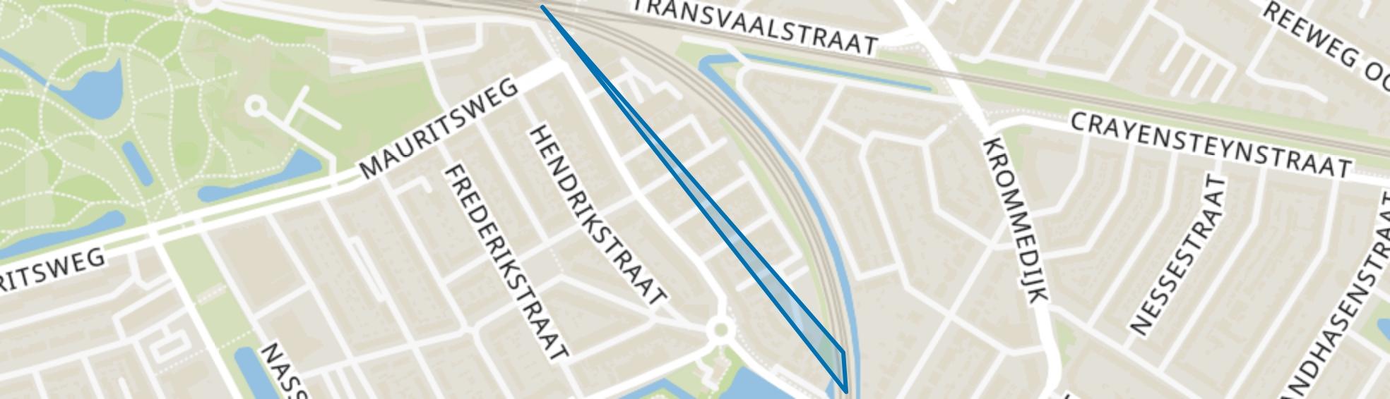 Bloemenbuurt, Dordrecht map