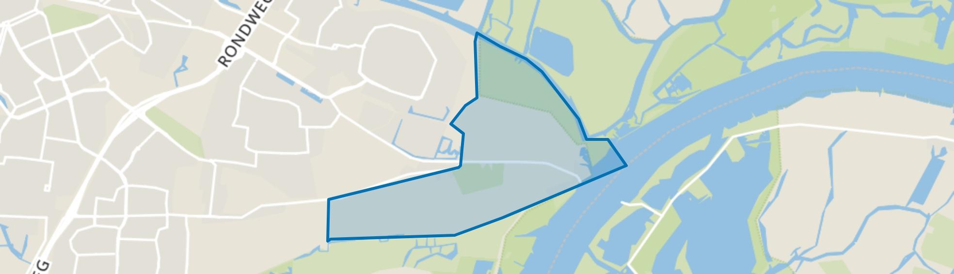 Bovenpolder, Dordrecht map