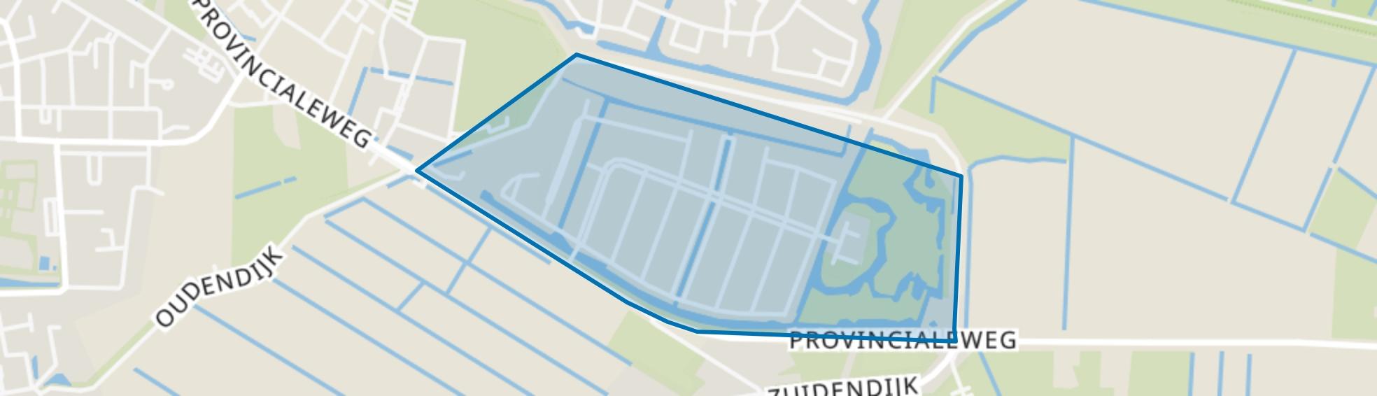 De Hoven, Dordrecht map