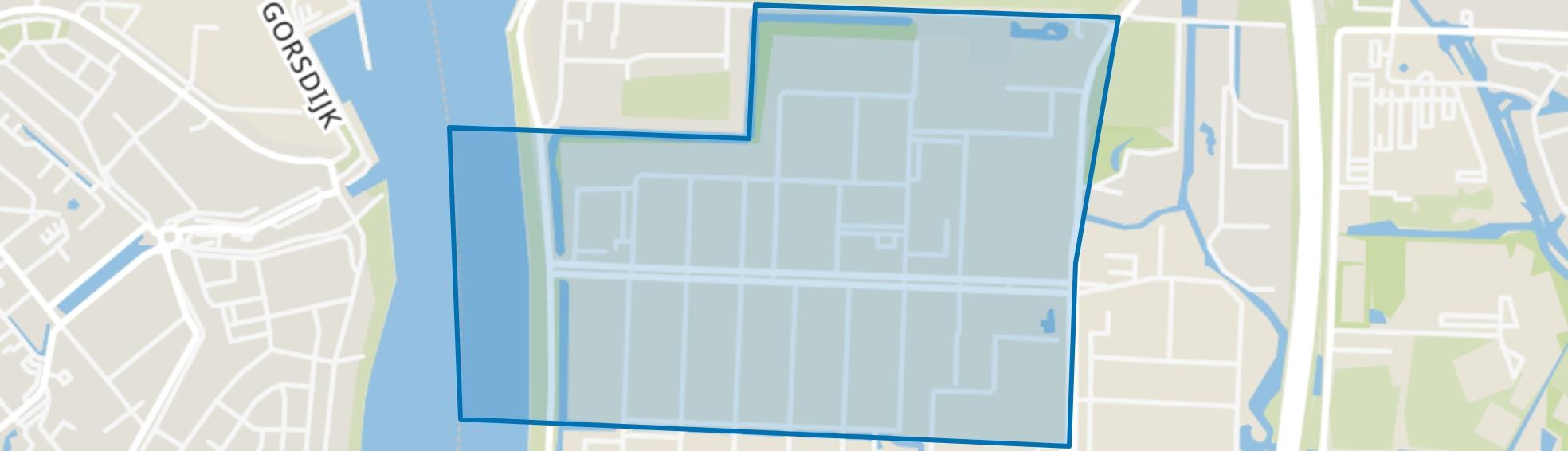Dordtse Kil I, Dordrecht map