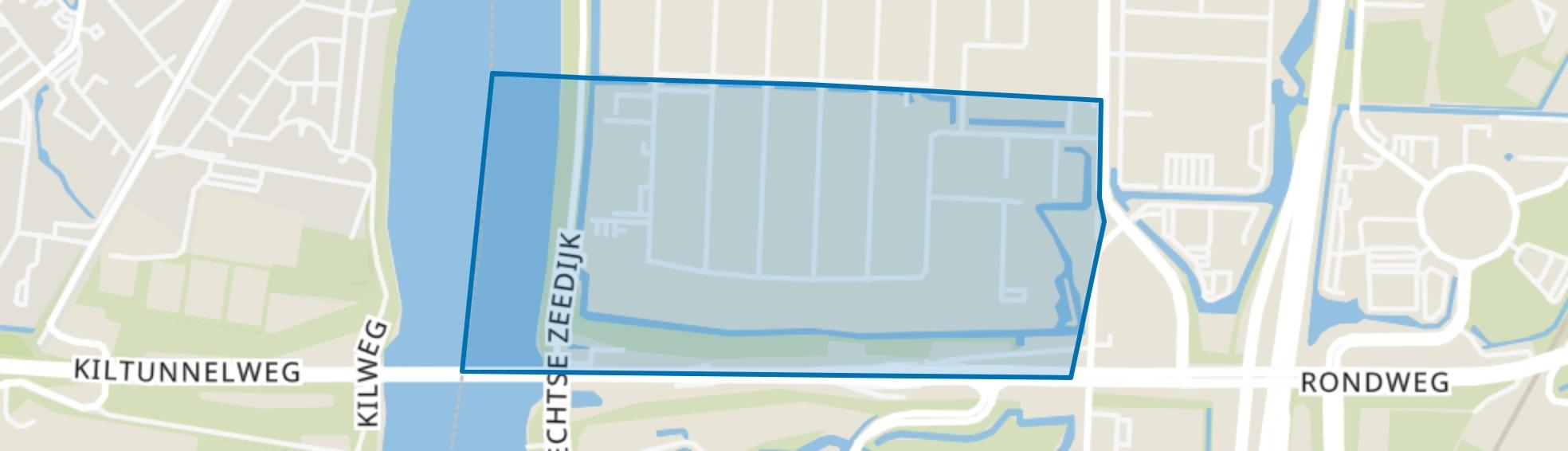 Dordtse Kil II, Dordrecht map