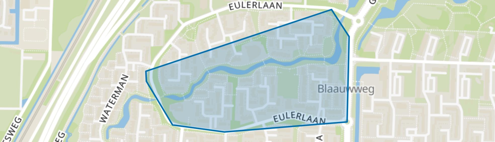 Driehoek en omgeving, Dordrecht map