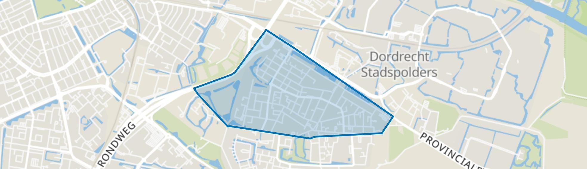 Dubbeldam-Noord, Dordrecht map