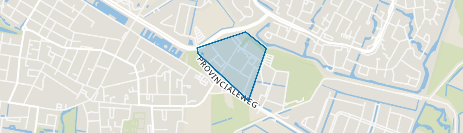 Egstraat en omgeving, Dordrecht map