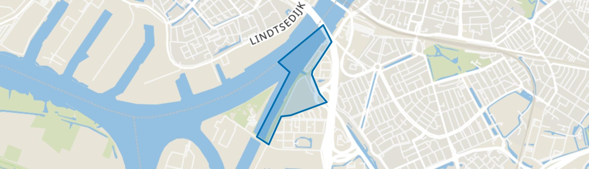 Handelskade en 's-Gravendeelsedijk, Dordrecht map