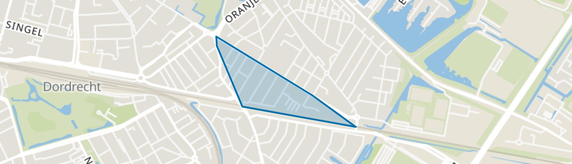 Indische Buurt-Zuid, Dordrecht map