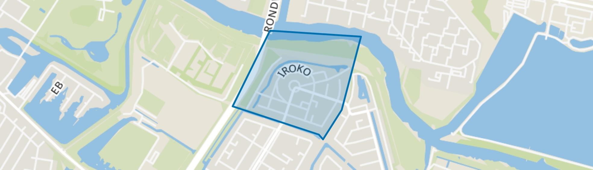 Iroko en omgeving, Dordrecht map