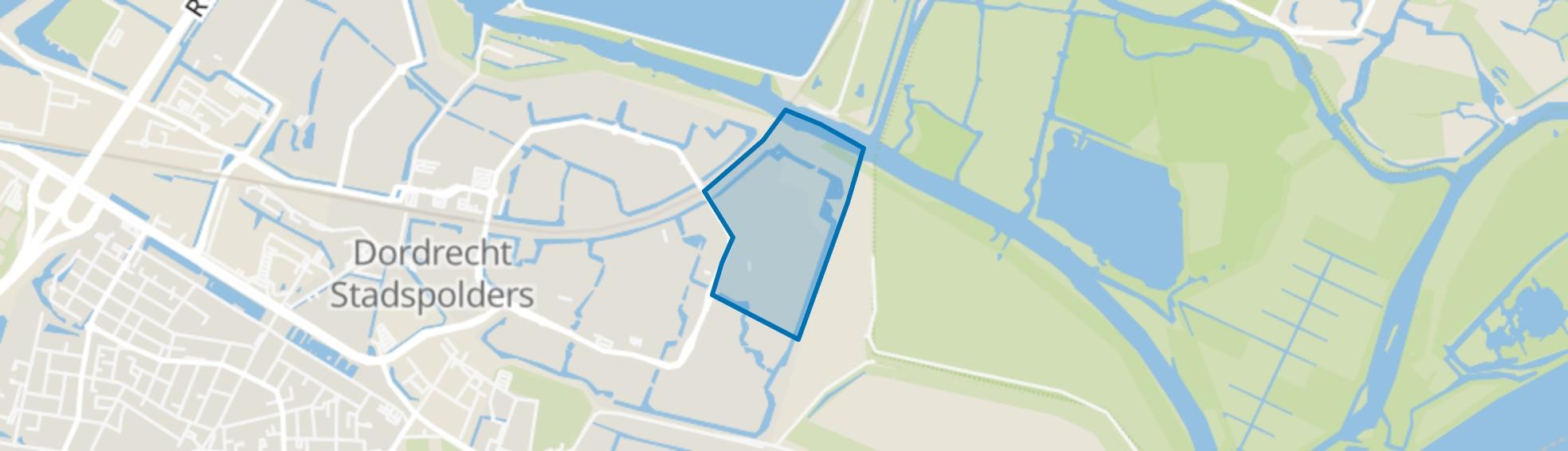 Johanna Naber-erf en omgeving, Dordrecht map