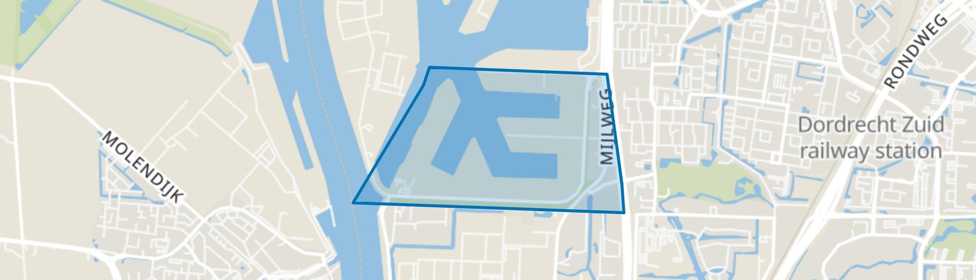 Julianahaven, Dordrecht map