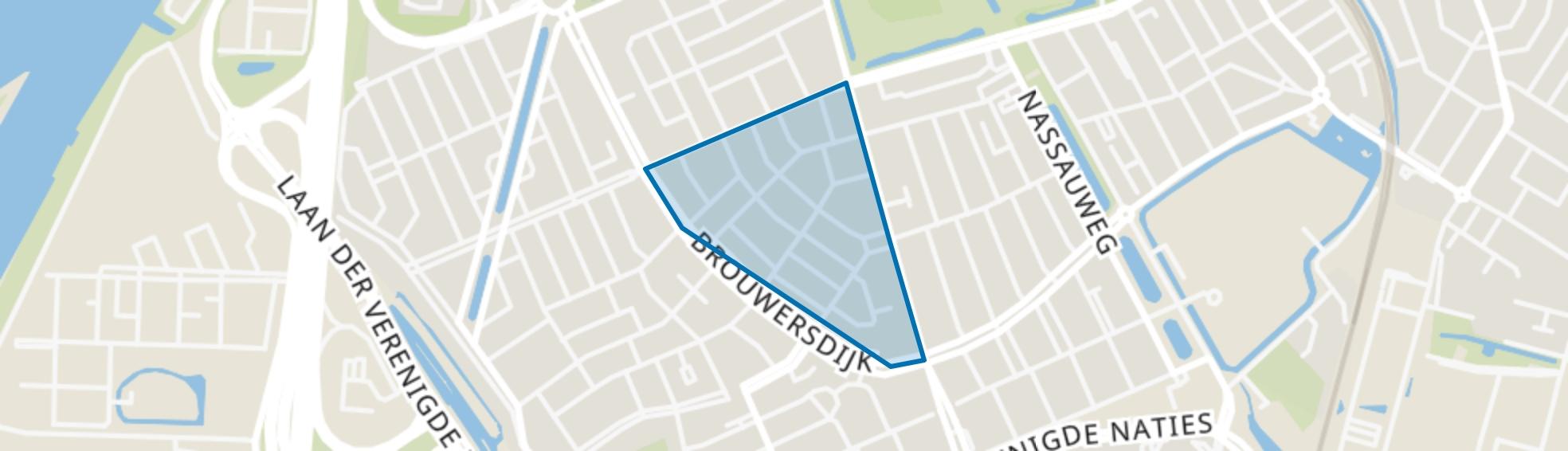 Krispijnse Driehoek, Dordrecht map