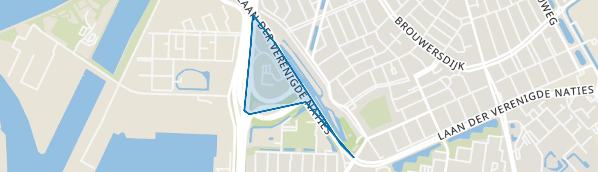 Laan der Verenigde Naties Noord, Dordrecht map