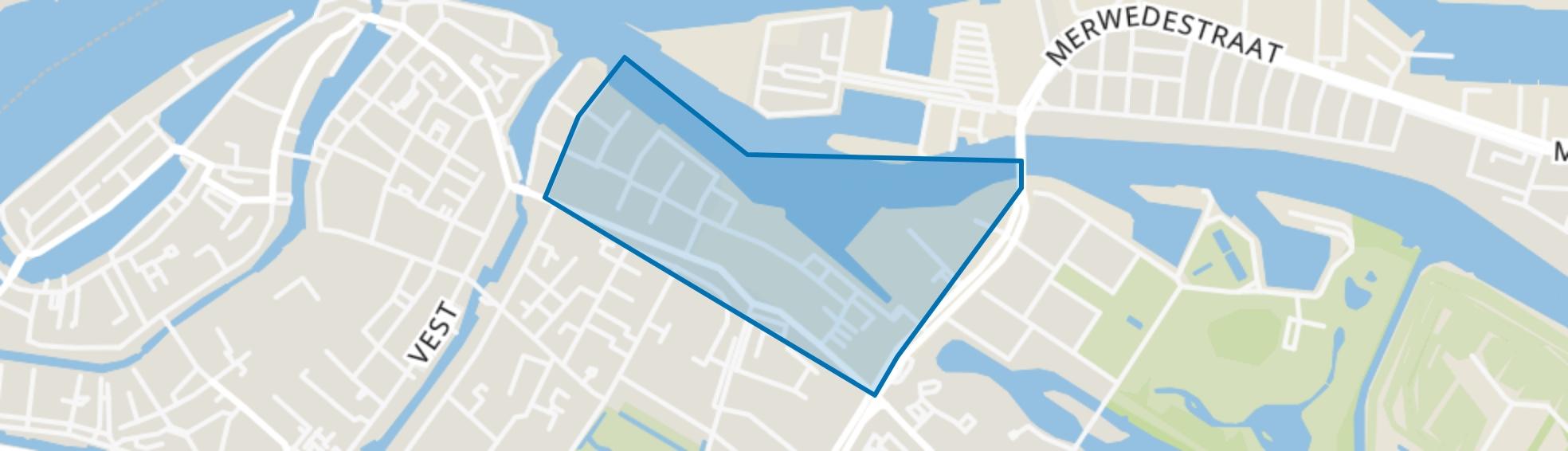 Lijnbaan, Dordrecht map