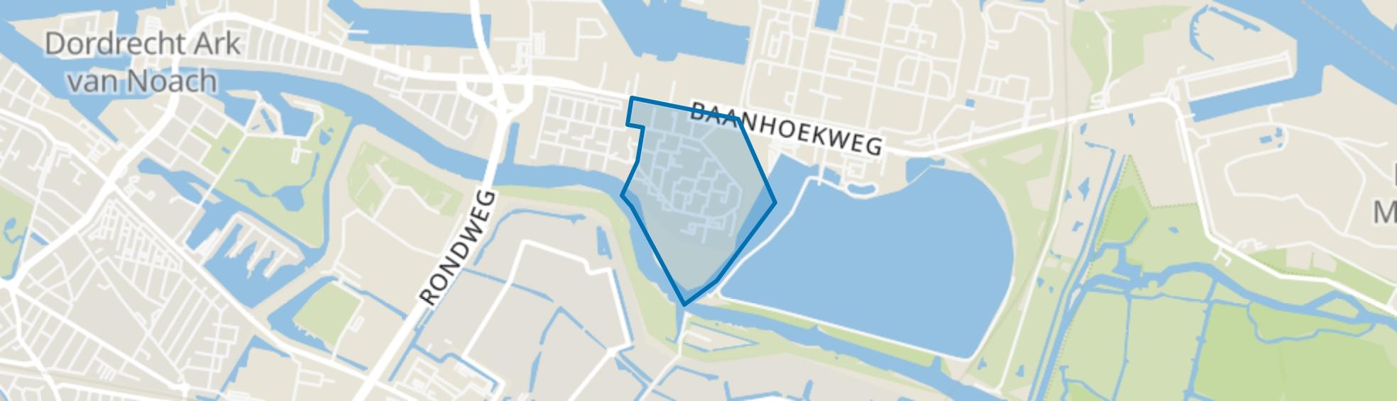 Merwedepolder-Oost, Dordrecht map