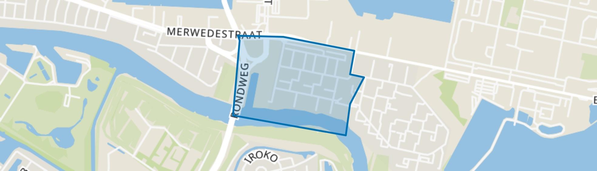 Merwedepolder-West, Dordrecht map