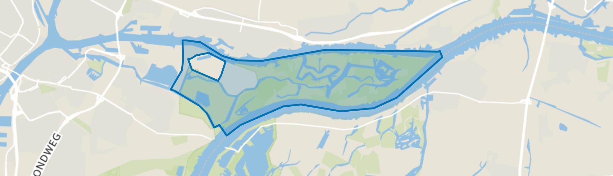 Merwelanden, Dordrecht map