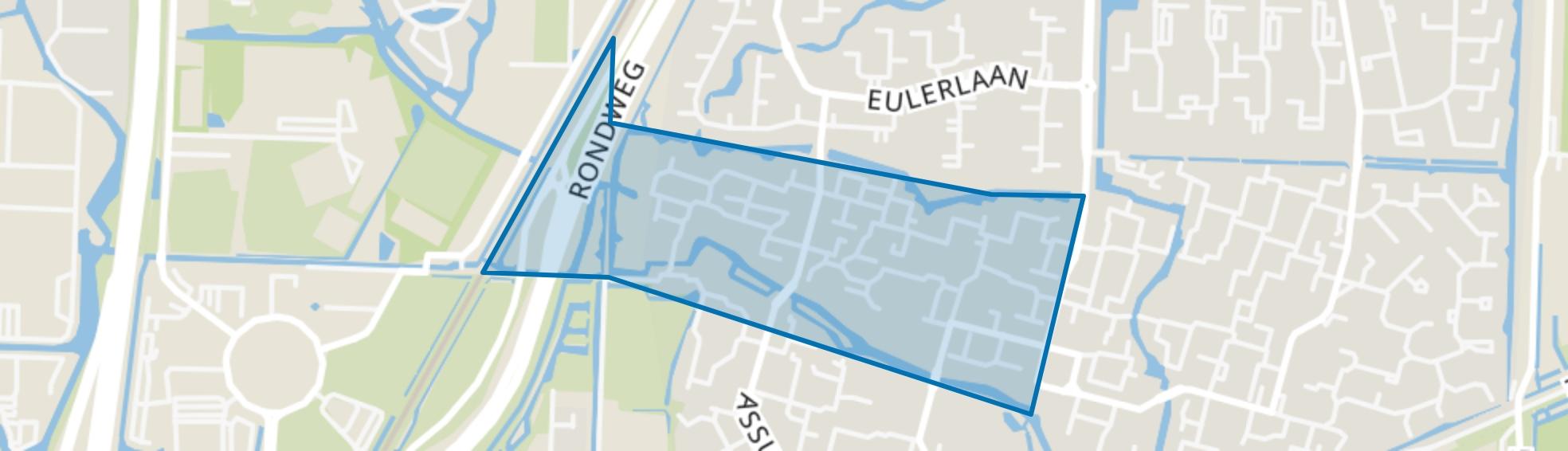 Mildenburg en omgeving, Dordrecht map