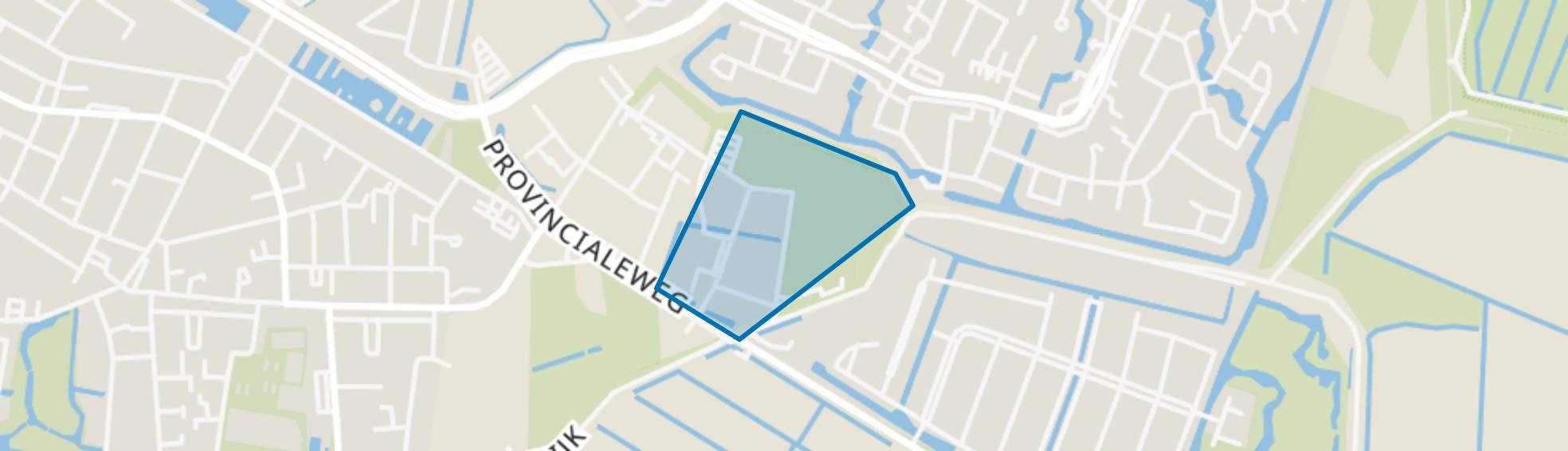 Oudendijk en omgeving, Dordrecht map