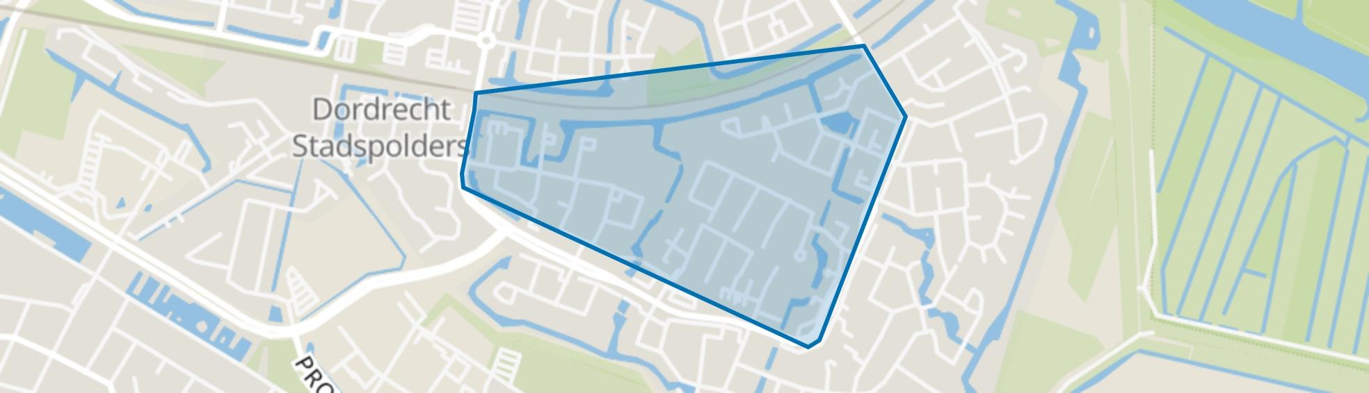 Pearl Buck-erf en omgeving, Dordrecht map
