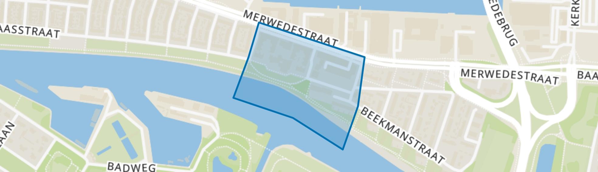 Plein 1940-1945 en omgeving, Dordrecht map