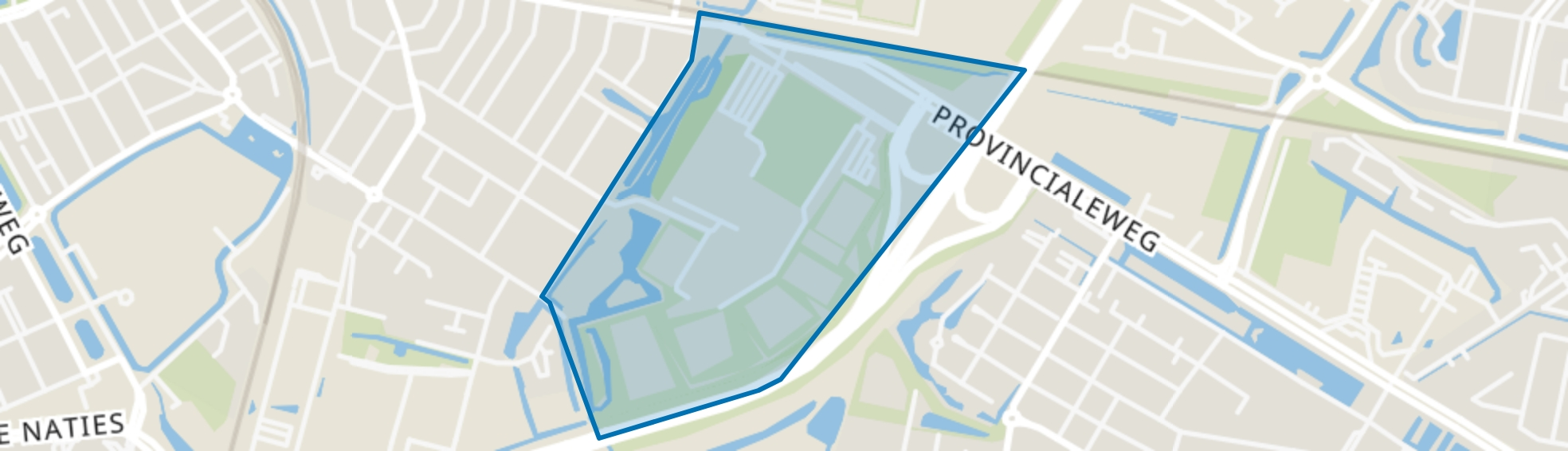Sportterrein Krommedijk, Dordrecht map