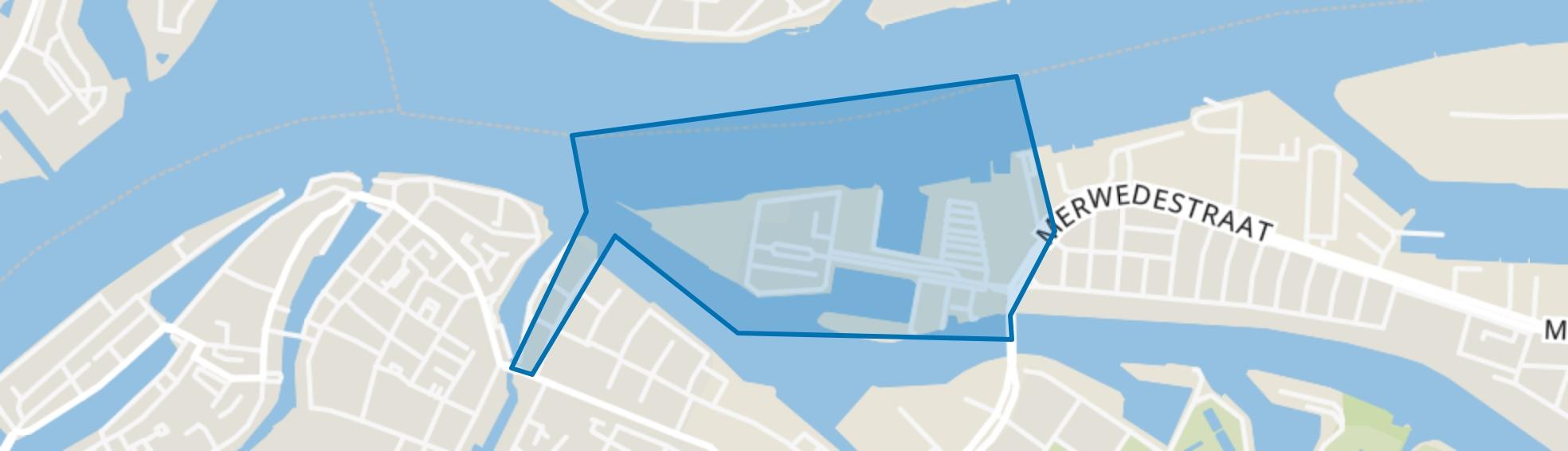 Stadswerven, Dordrecht map