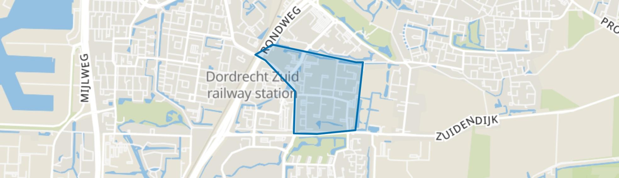 Sterrenburg 1-Oost, Dordrecht map