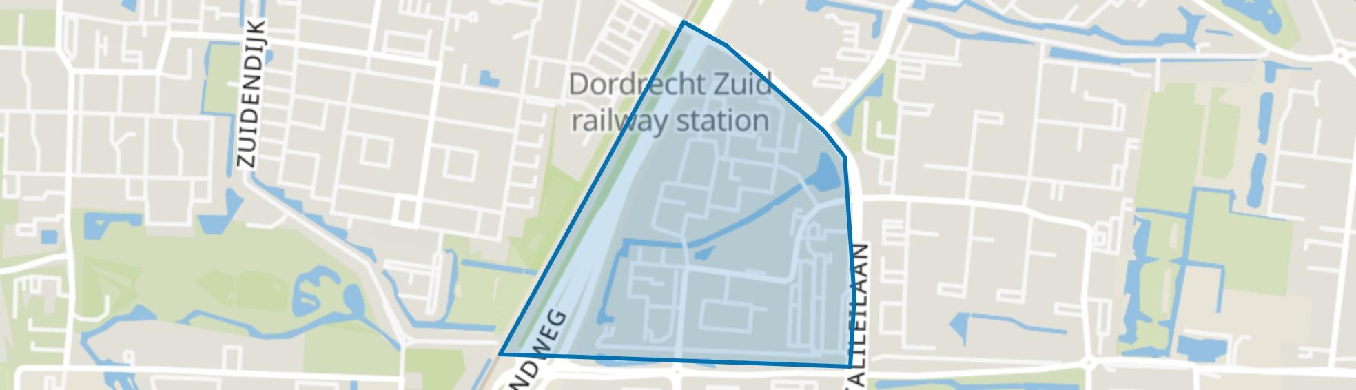 Sterrenburg 1-West, Dordrecht map