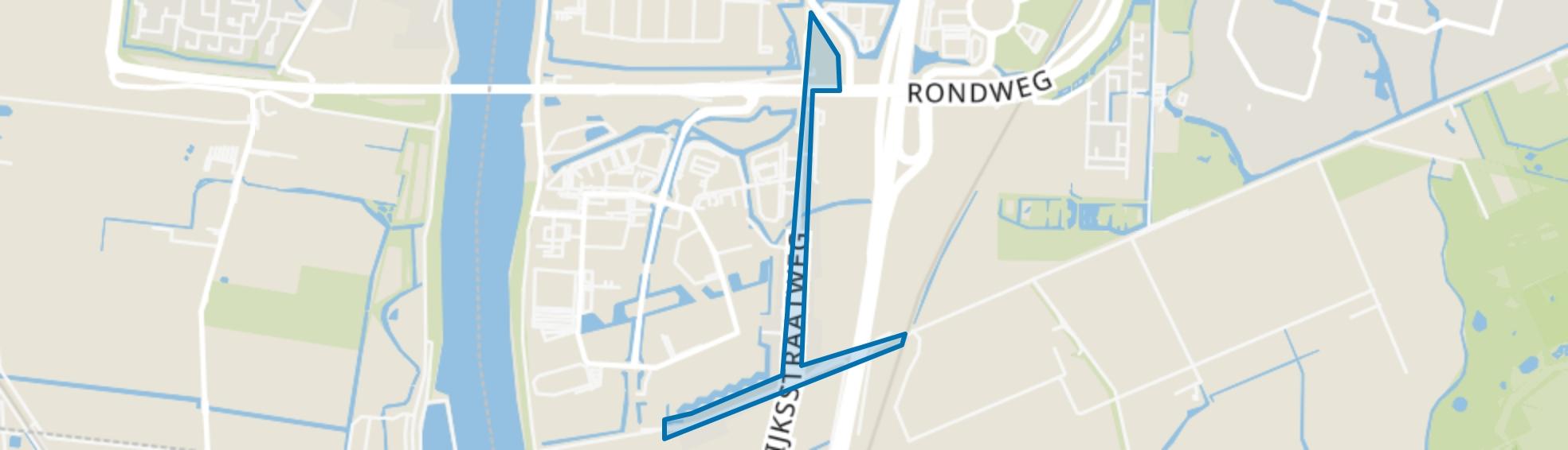 Tweede Tol, Dordrecht map