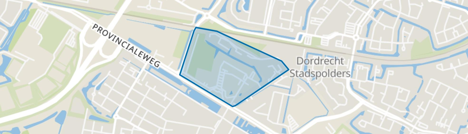 Vissersdijk-Beneden, Dordrecht map