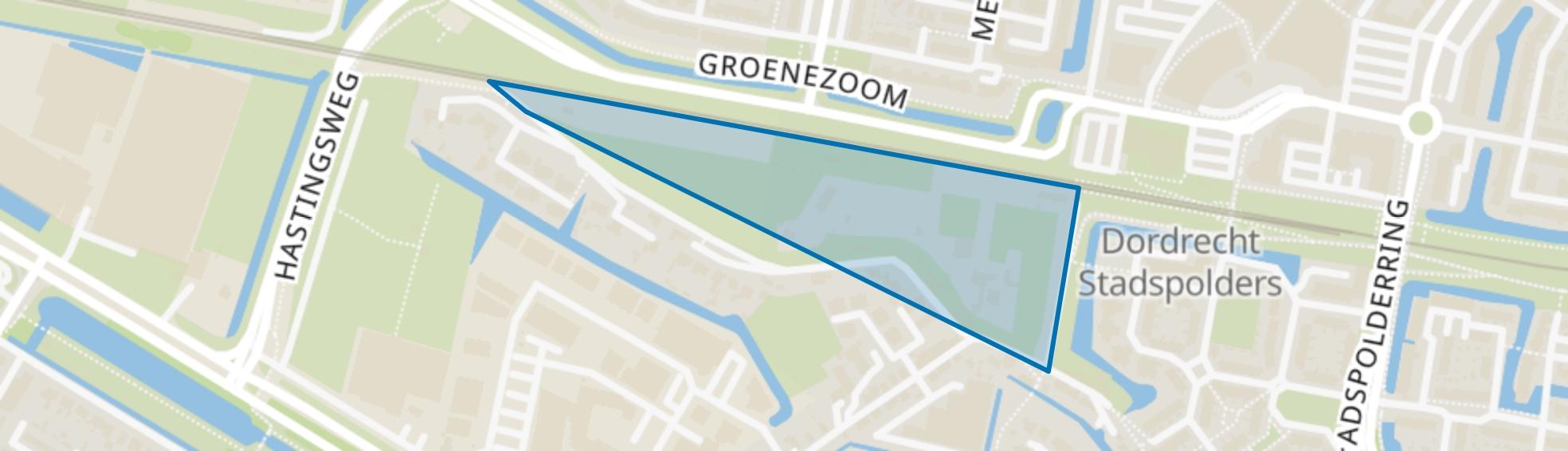 Vissersdijk-Noord, Dordrecht map