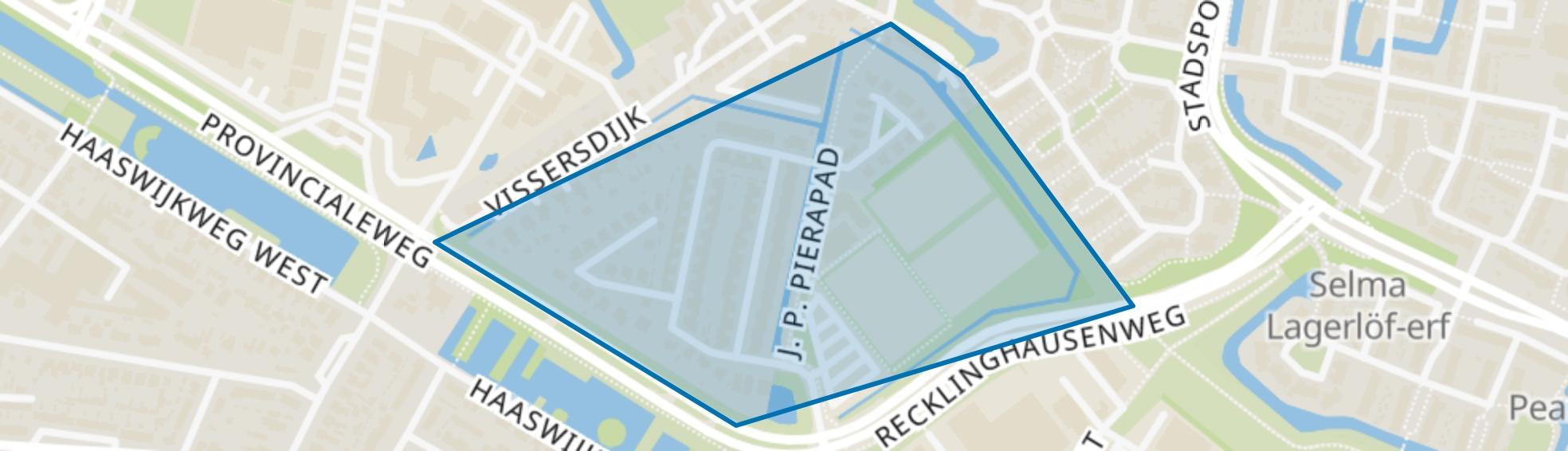 Vissersdijk-Oost, Dordrecht map