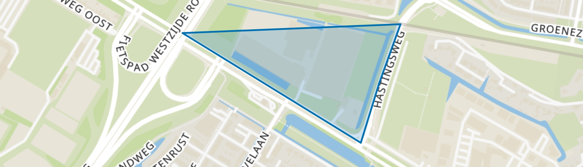 Vissersdijk-West, Dordrecht map