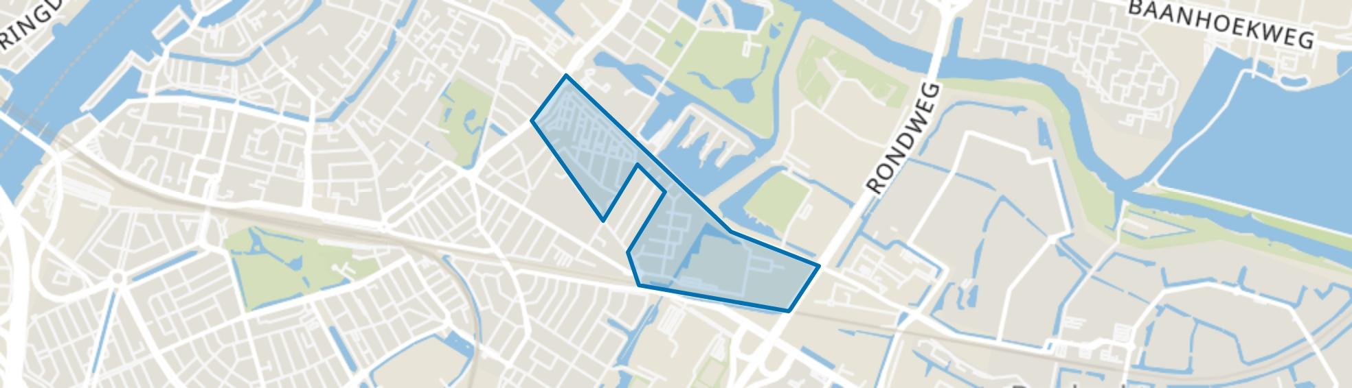Vogelplein-Aalscholverstraat en omgeving, Dordrecht map