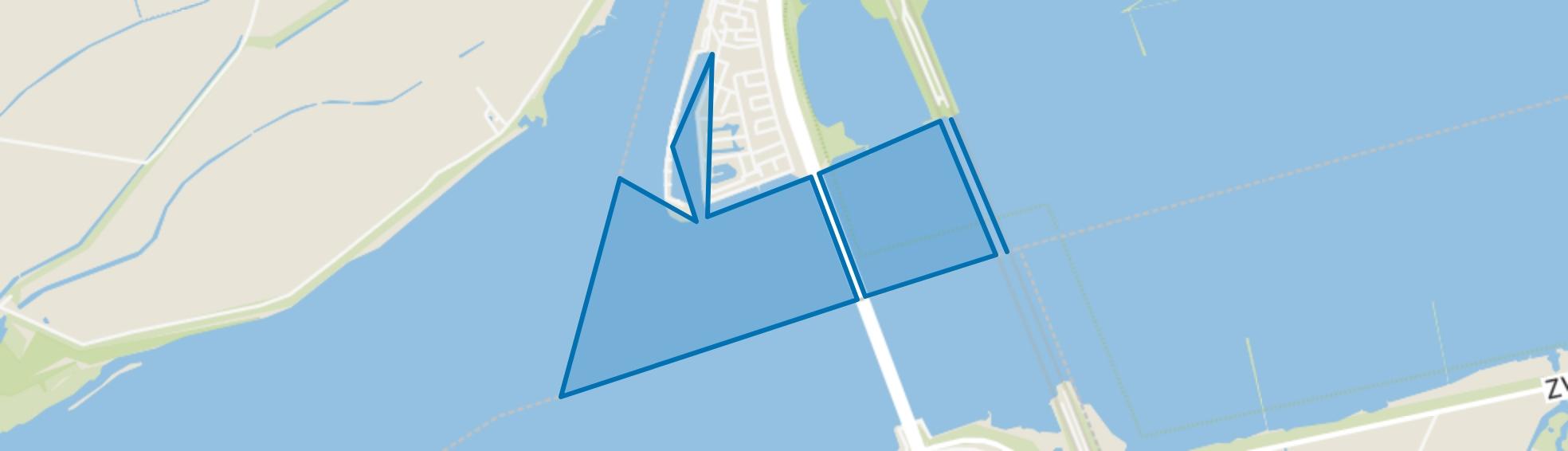 Water, Dordrecht map