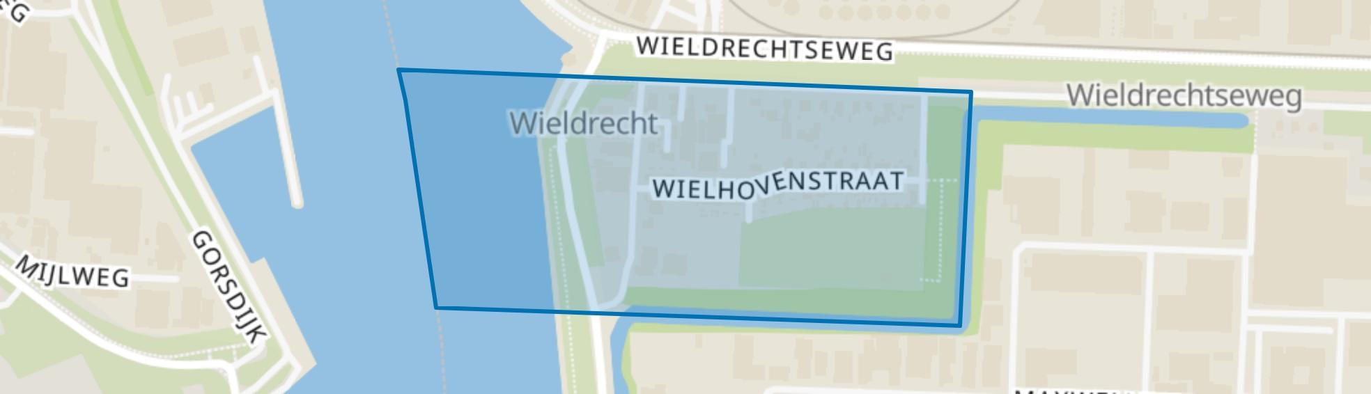 Wieldrecht, Dordrecht map