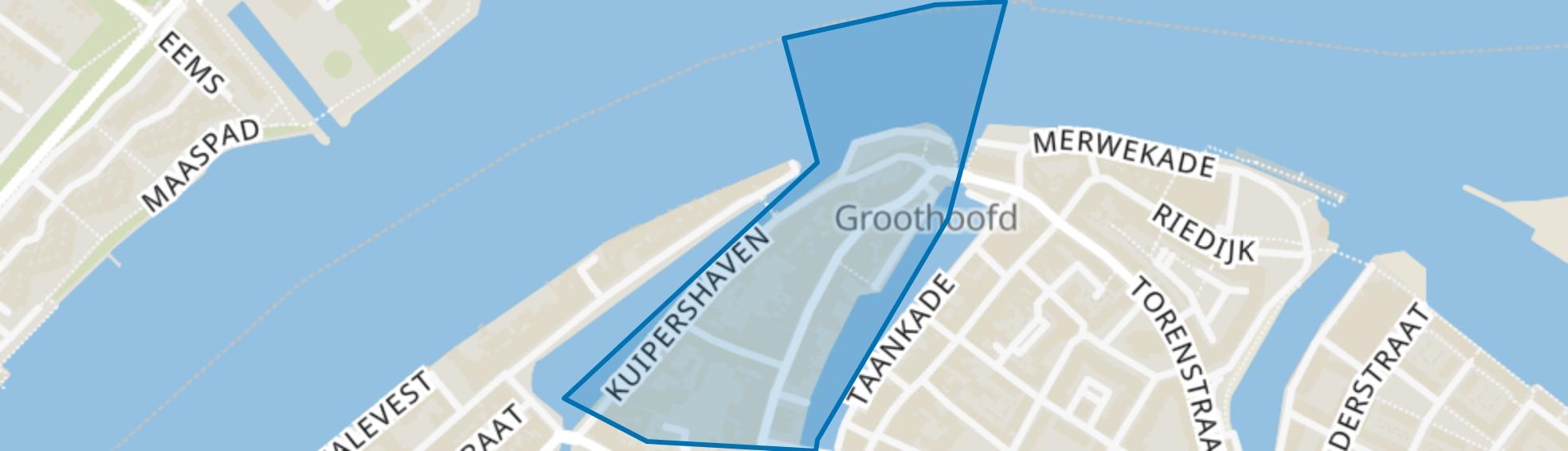 Wijnstraat en omgeving, Dordrecht map