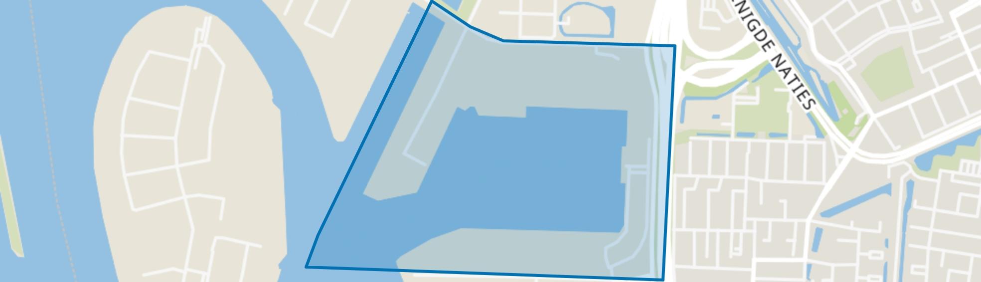 Wilhelminahaven, Dordrecht map