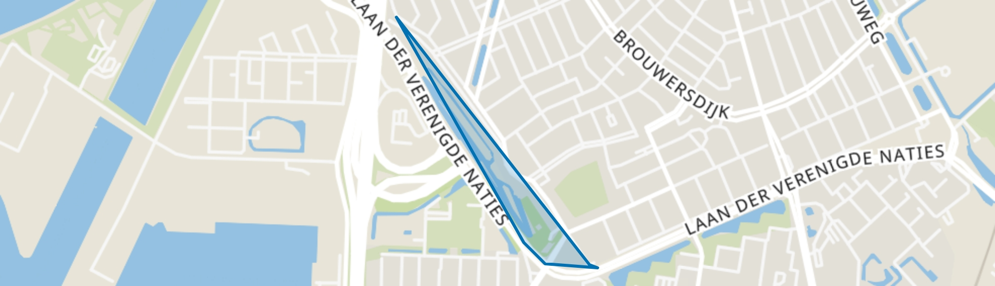 Zuidendijk, Dordrecht map